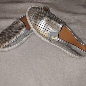 J Crew women's slip on loafers